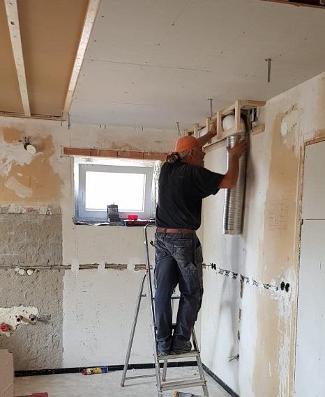 komplett Sanierung eines alten besonderen Hauses steht an. Foto ist © Manfred Laib