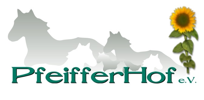 Logo von 1986 bis 2017 des Vereins zur Förderung behinderter und nicht behinderter Menschen g.e.V. mit Sitz am Pfeifferhof in Haslach